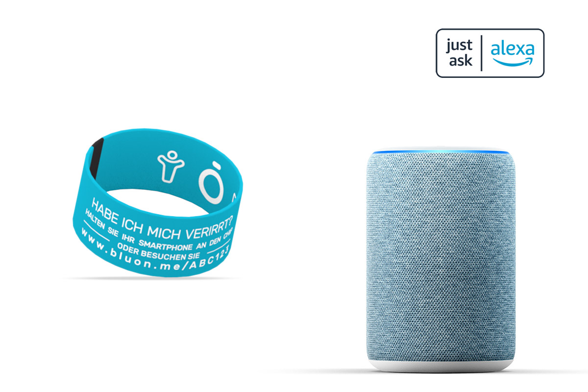 Just ask Alexa with bluon.me